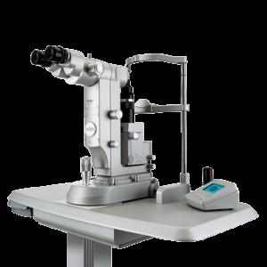 緑内障のレーザー治療の機能を搭載した最新のYAGレーザー